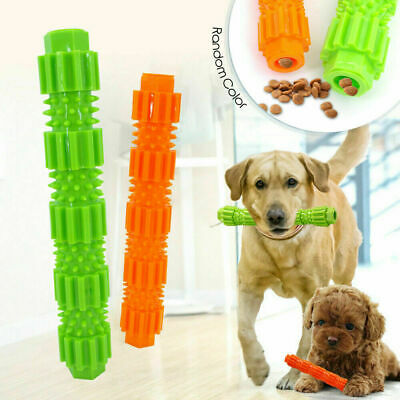 Pet Dog Puzzle Toys Tough-Treat Food Dispenser Interactive Puppy Play Toy • 3.87£
