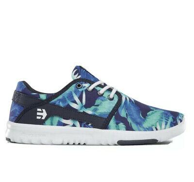£25 • Buy Etnies Scout Womens New Trainers Size UK5 EU38.5 Blue And Green Tropical