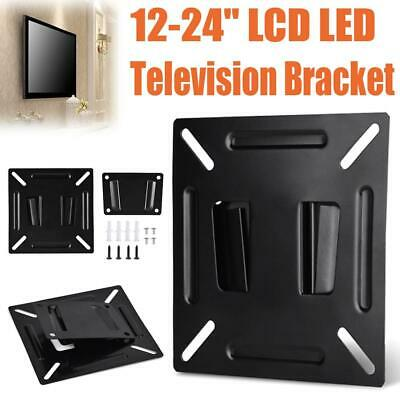 LED LCD Monitor TV Bracket Wall Mount Stand Holder For 12-24 Inch TV PC Screen • 3.99£