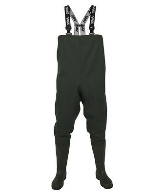 Vass Tex 600 Series Heavy Duty PVC Chest Waders. Sea And Freshwater UK 8 - UK 12 • 59.99£