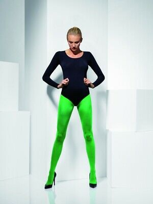 £4 • Buy Fever Hosiery Opaque Green Tights Fancy Dress Halloween Witch Poison Ivy Elf