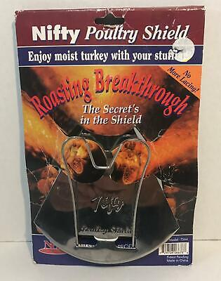 £10.61 • Buy NIFTY Poultry Shield For Roasting Poultry, New With Box, Model TS66