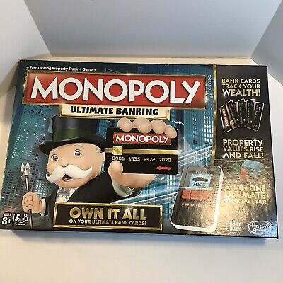 $24.50 • Buy Monopoly Hasbro Ultimate Banking Board Game, Complete