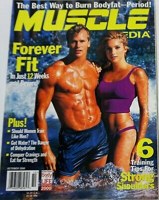 $ CDN16.92 • Buy Muscle Media Magazine October 2000 Rusty Joiner On Cover