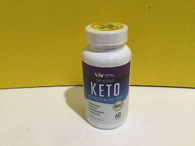 $10 • Buy Vital Pure Keto Diet Advanced Weight Loss 60 Capsules 6/21