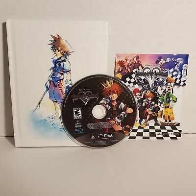 $12.99 • Buy PS3 Kingdom Hearts 1.5 Limited Edition HD ReMIX Art Book NO SLIPCOVER