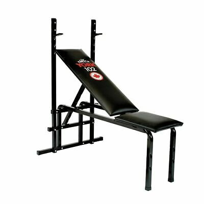 York 102 Weight Bench Flat To Incline Chest Press Weight Lifting Bench • 89.99£
