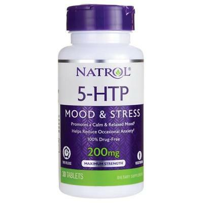 $ CDN33.08 • Buy Natrol 5 - HTP Time Release 200 Mg 30 Tablets 2 Pack