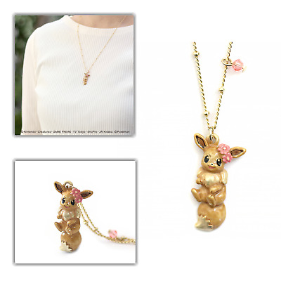 Palnart × Pokemon Eevee Necklace With Flower Crown Ver. Japan Limited Exclusive • 62.23£