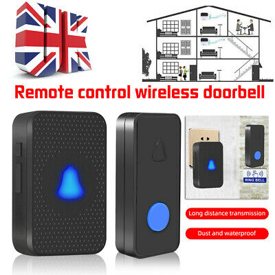 1+3 Receiver Wireless Door Bell Doorbell Waterproof Wall Plug-in Chime 300M  • 8.99£