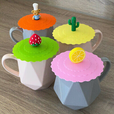 £2.59 • Buy Goodiz Silicone Anti-Dust Suction Magic Mug Cup Cover Lid Cap No Spill Hot Drink