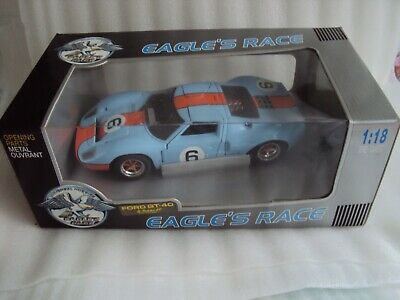 Universal Hobbies Eagles Race Ford Gt 40 1969 Le Mans  Ex Cond  In Orginal Box   • 59.75£