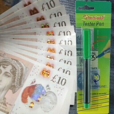 £7.99 • Buy Money Tester Pens Counterfeit Forged Fake Detector Marker Bank Note Checker