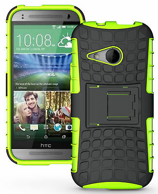 AU14.15 • Buy Neon Lime Green Grenade Tpu Skin Hard Case Cover Stand For Htc One Remix Mini-2