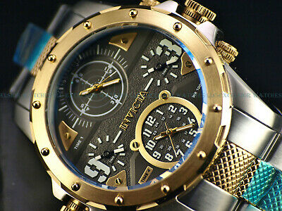 Invicta Coalition Forces Special Ops Quad Time Two Tone  4 Dial Watch 50mm New • 89.30£