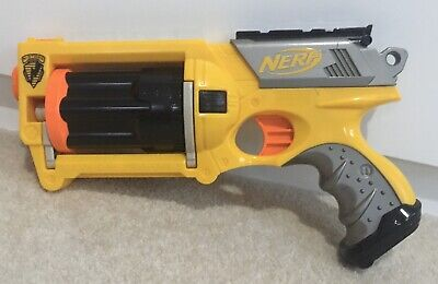 £6.99 • Buy NERF Maverick Rev-6. 12 Darts Included. Condition Used.
