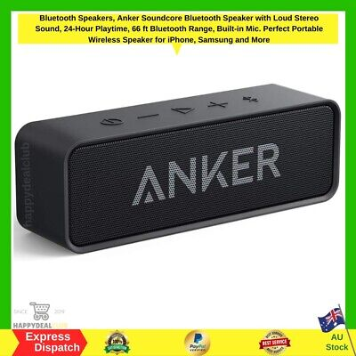 AU68.99 • Buy Bluetooth Speakers, Anker Soundcore Bluetooth Speaker | NEW FAST FREE SHIPPING