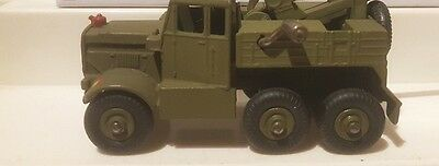 $12.99 • Buy Dinky Military Army  7  20mm Round Tread Tires Super Toy # 661 Scammel Wrecker