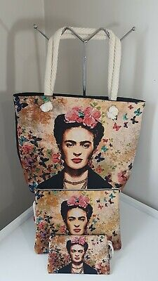 $39.90 • Buy Women Frida Kahlo Bag Set Of 3 Tapestry Fabric