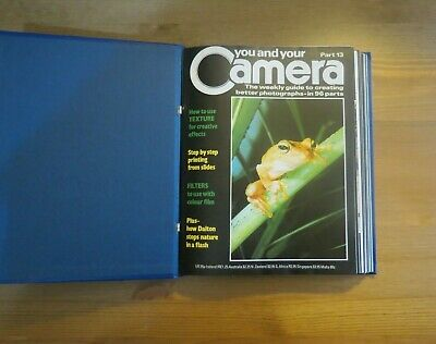 Vintage YOU AND YOUR CAMERA Magazine Vol 2 - 13 To 24 - 1985 Retro Photography • 9.99£