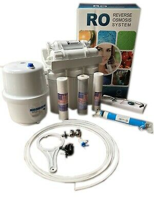 Reverse Osmosis(5 Stage)water System.Drinking Water Perfect.top Filter. • 116£