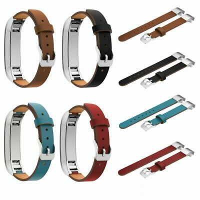 AU10.79 • Buy New Leather Wristband Band Strap Bracelet For Fitbit Alta HR Smart Tracker