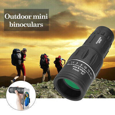 Super High Power 40X60 Portable HD Night Vision Monocular Telescope Binoculars • 10.49£