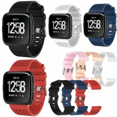 $ CDN6.13 • Buy Large/Small Silicone Sports Wrist Watch Band Strap For Fitbit Versa Replacement
