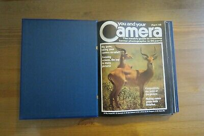 Vintage YOU AND YOUR CAMERA Magazine Vol 5 - 39 To 60 - 1985 Retro Photography • 9.99£