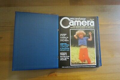 Vintage YOU AND YOUR CAMERA Magazine Vol 6 - 61 To 72 - 1985 Retro Photography • 9.99£
