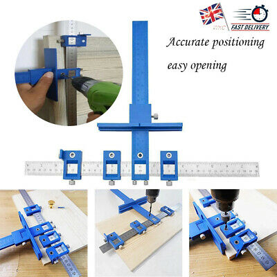 £11.12 • Buy Woodworking Punch Locator Drill Guide Drilling Dowelling Hole Saw Adjustable