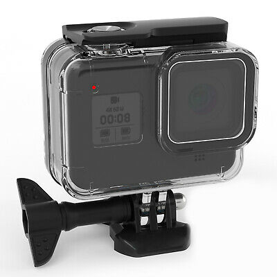 60M Underwater Waterproof Case Shell Camera Accessories For GoPro Hero 8 Black • 10.07£