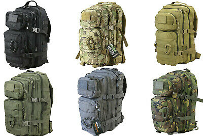 £29.85 • Buy Small Molle Assault Pack 28 Litre Rucksack Army Cadet Daysack Bag Camo