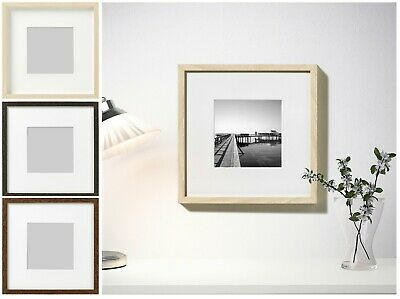 IKEA HOVSTA Photo Frame Picture Display Square Box 3D Deep Frame 23x23cm 9x9in • 10.59£