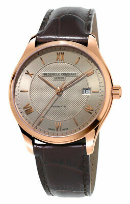 $629 • Buy Frederique Constant Classics Index Automatic Brown Strap Mens Watch FC-303MLG5B4