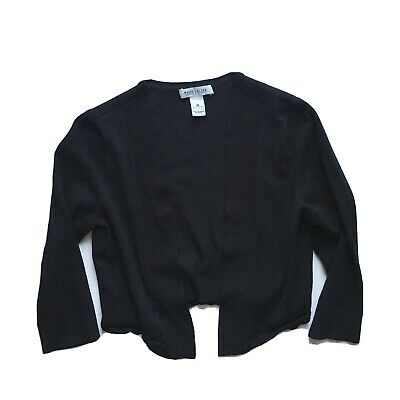$ CDN9.87 • Buy White House Black Market Asymmetrical Cropped Cardigan Long Sleeve