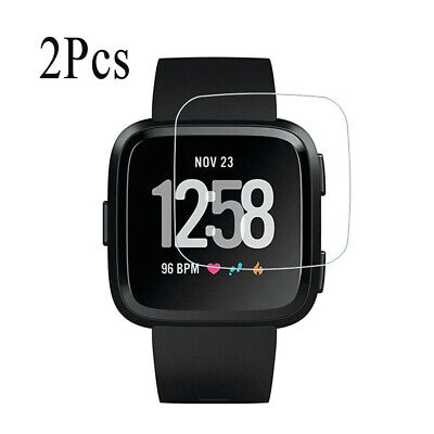 $ CDN6.22 • Buy 2pcs Screen Protector Protective Film Soft Full Cover For Fitbit Versa 2 Clear