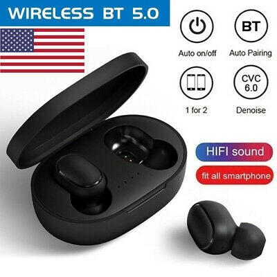 $21.99 • Buy Original NEW XIAOMI Redmi AIRDOTS WIRELESS EARPHONE W/ CHARGER BOX Bluetooth 5.0