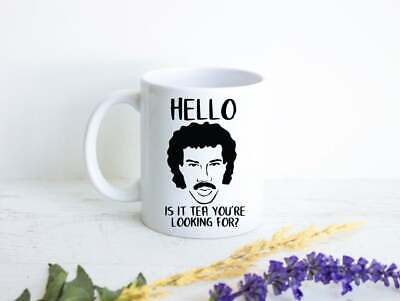 £14.54 • Buy Lionel Richie Mug Hello Is It Tea You're Looking For Lionel Richie Gift Lionel