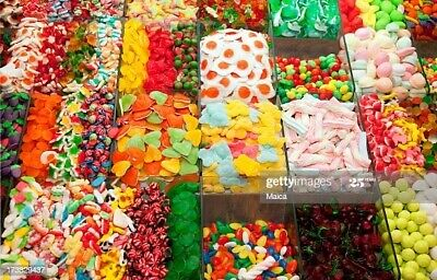 Pick N Mix Haribo Kingsway Retro Sweets Candy Kids Party  Treats Wedding Favours • 10£