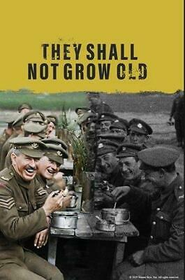 $9.99 • Buy They Shall Not Grow Old  Y Peter Jackson Documentary Free Fast Delevery