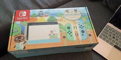 $ CDN1000 • Buy Nintendo Switch Console Animal Crossing Limited Edition Stock In Hand Now
