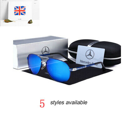Mercedes AMG Men's UV400 Sunglasses Sports Racing Golf Outdoor Glasses New UK • 10.69£