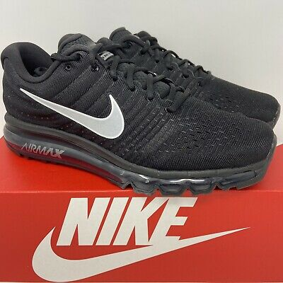 $169.99 • Buy Nike Air Max 2017 Mens SIZE 10.5 Running Shoes 849559 001 Black White New