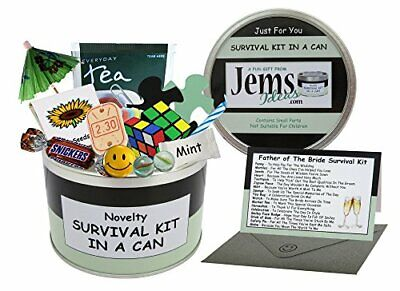 Father Of The Bride Survival Kit In A Can. Humorous Novelty Gift - Wedding Day • 16.26£