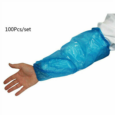 NEW UK 1000Pcs Disposable Sleeves Covers Cleaning Protective Arm Oversleeves HOT • 8.09£