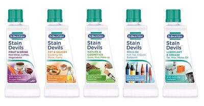 Original Dr Beckmann Stain Devils 50ml Specialist Stain Removers For Clothes • 2.99£