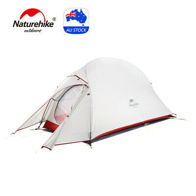 AU129 • Buy Naturehike Cloud Up 1 Person Upgrade Tent Lightweight Travel Camping Hiking Tent