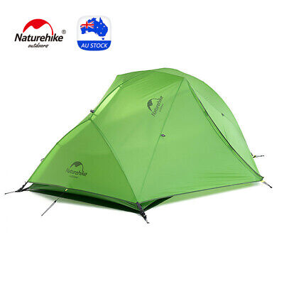 AU179.99 • Buy Naturehike Star River 2 Person Tent Double Layer Lightweight Backpacking Tents
