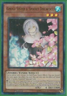 AU4.99 • Buy Yugioh Card - Ghost Sister & Spooky Dogwood *Ultra Rare* DUDE-EN005 (NM/M)